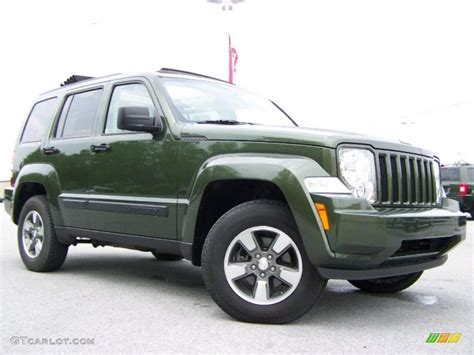 2008 Jeep Liberty Green 2008 Jeep Green Metallic Jeep Liberty Sport 4x4 29956997