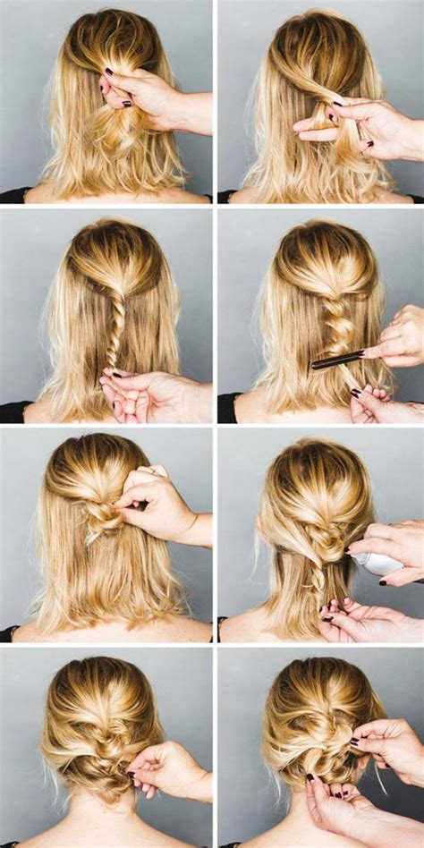 easy messy hairstyles  tutorials  rock  day