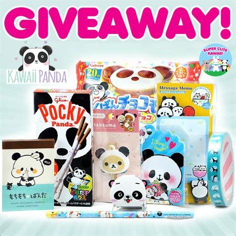 Kawaii Giveaway - kawaii panda surprise box giveaway closed super cute kawaii