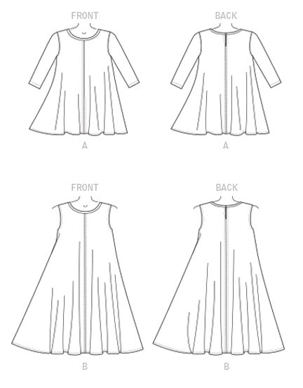 pattern review for mccalls 7240 mccall s 7407 misses flared knit top and dress