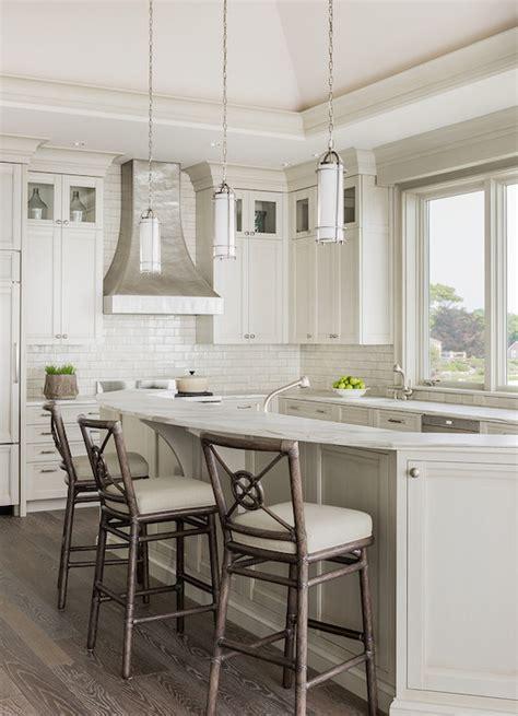 curved kitchen island kitchen island raised breakfast bar design ideas