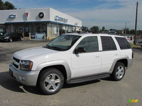 chevrolet trailblazer white 2007 summit white chevrolet trailblazer lt 4x4 34851594
