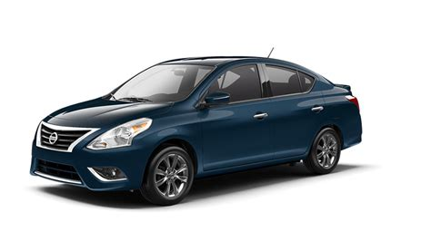 2016 Nissan Versa Sedan Color Options