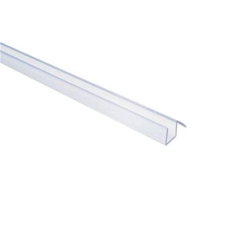 Frameless Shower Door Sweep Showerdoordirect 98 In Frameless Shower Door Bottom Sweep In Clear With Drip Rail For 1 4 In