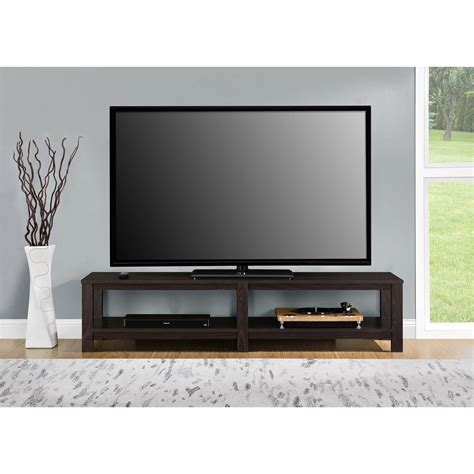 75 tv console table tv stand 65 inch flat screen entertainment media home