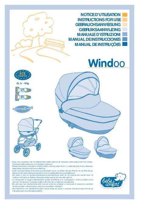 notice siege auto bebe confort mode d emploi bebe confort nacelle windoo si 232 ge auto