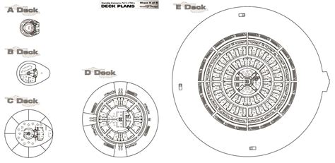 trek enterprise floor plans star trek blueprints uss enterprise ncc 1701a deck plans