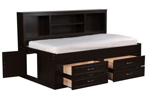 room saver kendall roomsaver bed w 4 drawer captains unit bed drawers drawers and beds