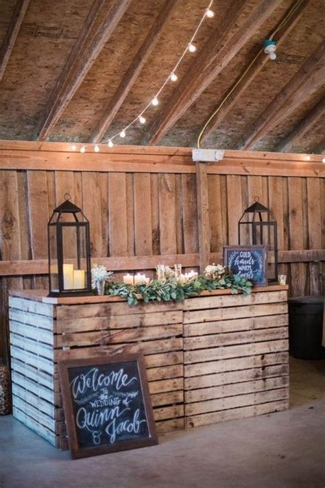 best 25 rustic wedding bar ideas on pinterest bar