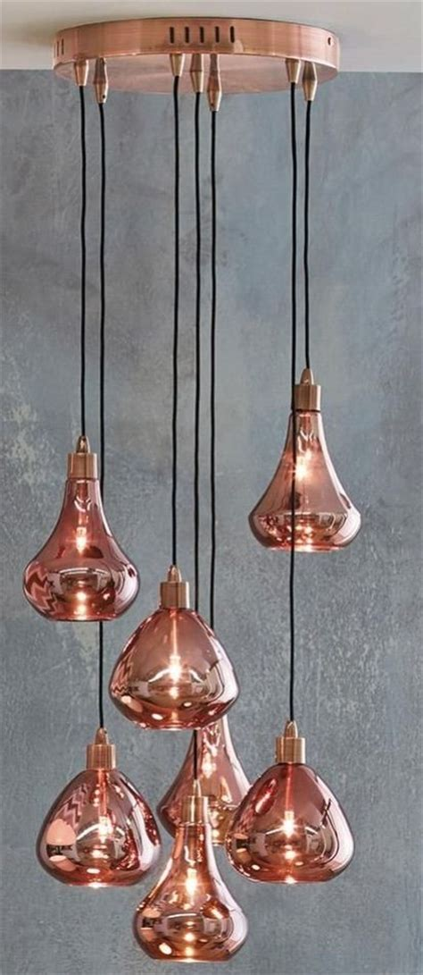 Next Pendant Lights Malmo 7 Light Ceiling Pendant Copperlighting Copperdesign Copperdecoration L I G H T