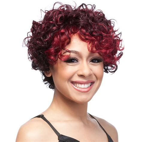 short short wigs for black women cheap afro kinky curly synthetic wig with bangs synthetic