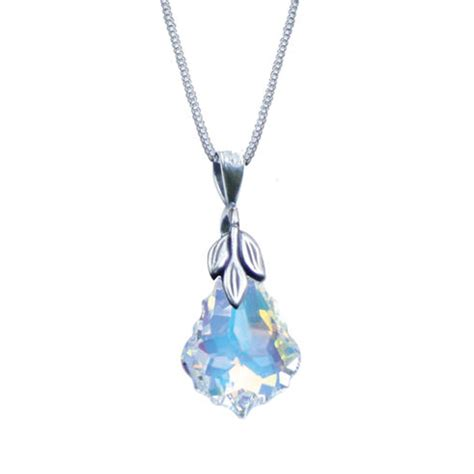 swarovski pendant necklace from eternal collection