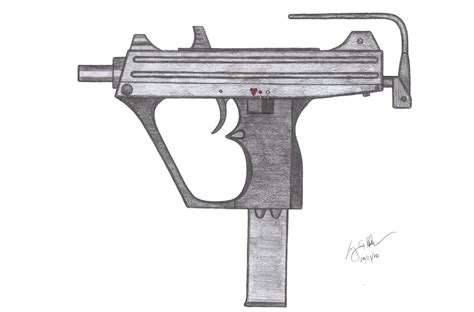 How To Make A Paper Smg - hc 98 smg by czechbiohazard on deviantart