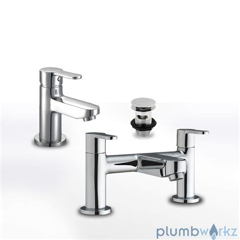 Modern Favour Chrome Bathroom Taps Sink Basin Mixer Bath Modern Bathroom Taps Uk