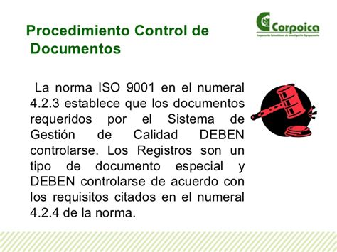 control de documentos gestion de control de documentos