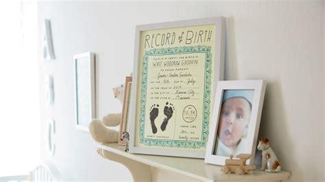Free Birth Record Free Nursery Printables Hallmark Ideas Inspiration