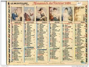 Calendrier Revolutionaire Philippe Fabre Dit Fabre D Eglantine 1750 1794