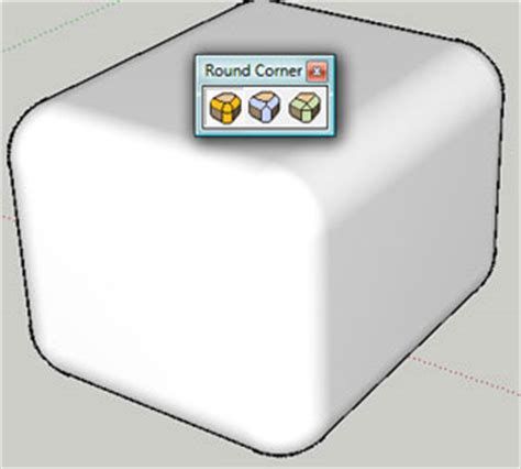 sketchup layout rounded rectangle roundcorner 2 5a for sketchup