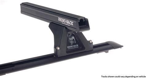 Rhino Rack Heavy Duty by Heavy Duty Rltf Trackmount Black 2 Bar Roof Rack Rhino Rack