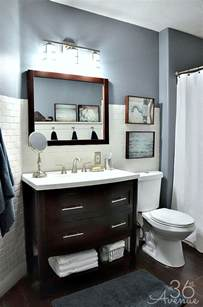 Home Bathroom Decor The 36th Avenue Home Decor Bathroom Makeover The