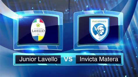 lavello calcio junior lavello invicta matera