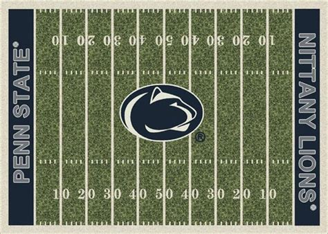penn state area rug penn state nittany lions home field area rug