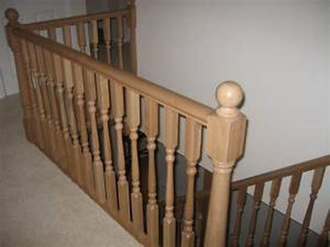 replacing banister replacing staircase banister carpentry joinery job in