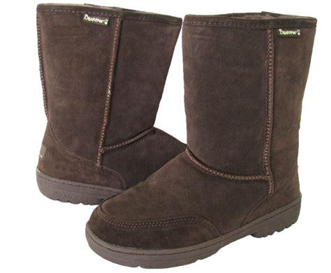 bearpaw womens boots bearpaw womens meadow 8 inch suede sheepskin boot ebay