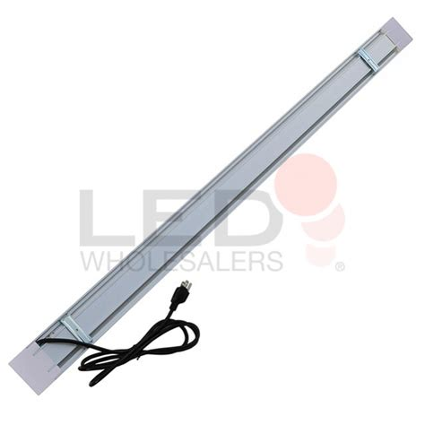 3 foot led shop light 4 ft aluminum low profile 40w led utility shop light with