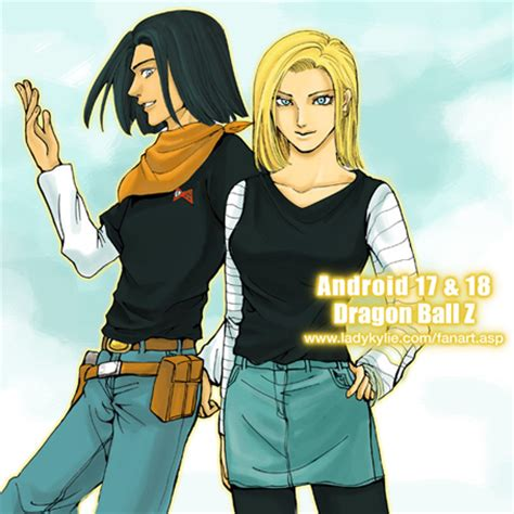 android 17 and 18 how to draw android 17 18