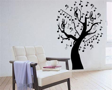 music decals for bedroom music tree wall sticker bedroom kitchen art vinyl decal