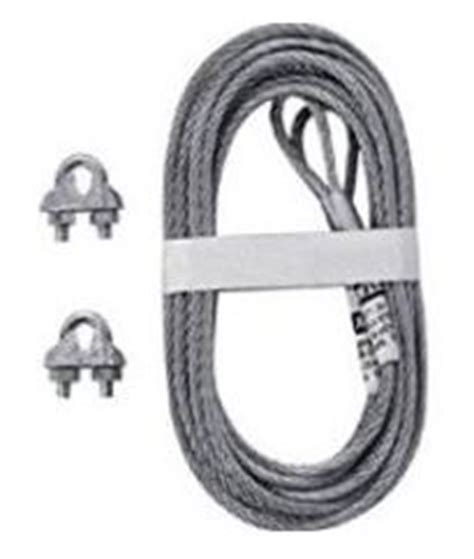 Purpose Of And Installation Of Safety Cables On Garage Garage Door Cable Kit