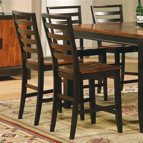 Silver Dining Table And Chairs Steve Silver Company Abaco 5 Drop Leaf Counter Height Storage Dining Table And Chairs Set