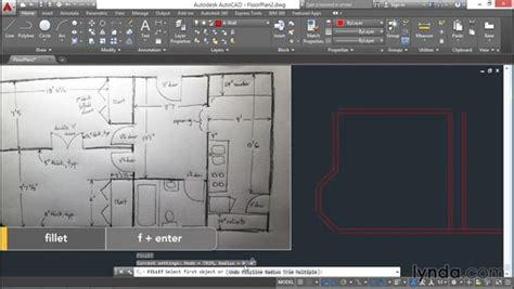 tutorial autocad lt 2016 architectural project drawing walls