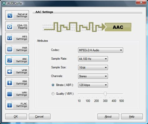 format audio file audiozilla audio converter convert audio files to other