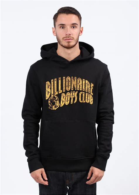 Hoodie Abu Co One 1 billionaire boys club burlap pullover hoody black