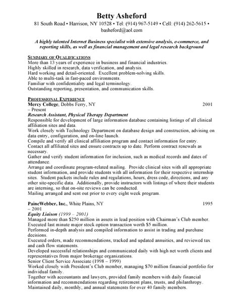 Resume Exles For Service Manager Customer Service Manager Free Resumes