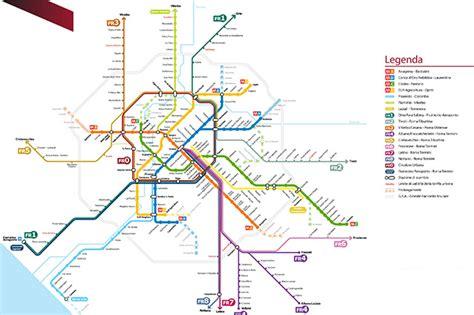 autobus per porta di roma metropolitane di roma mappa orari e fermate delle linee a