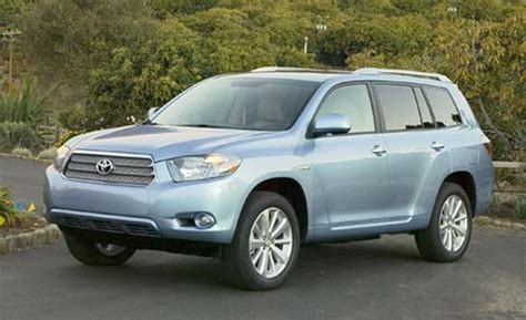 Toyota Highlander 2008 Car And Driver