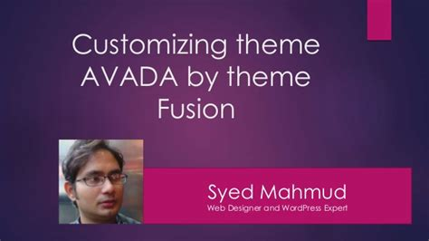 avada theme not uploading customizing theme avada by theme fusion