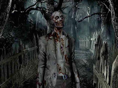 imagenes tiernas de zombies navidenas tapeta żywy trup mroczną porą resident evil gry komputerowe