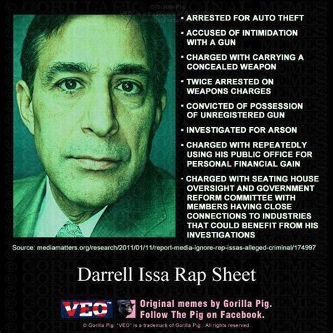 Rep Darrell Issa Criminal Record Article On Huffington Post Bashing Butches