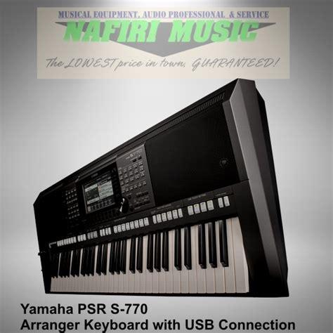 Jual Keyboard Yamaha Psr S770 Jual Beli Keyboard Yamaha Psr S770 Psr S 770 Psr S 770 Psr 770 Baru 100 Garansi Resmi