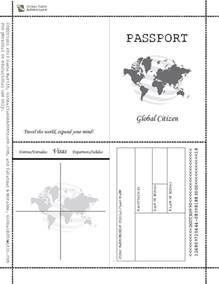 best 25 passport template ideas on pinterest
