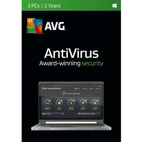 Antivirus Avg Security avg antivirus 3 user 2 year best cheap software