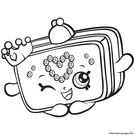 coloring pages of shopkins season 7 season 7 shopkins princess purse coloring pages printable