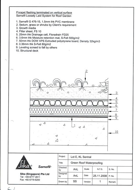 roof garden detail section index of documents roofmate