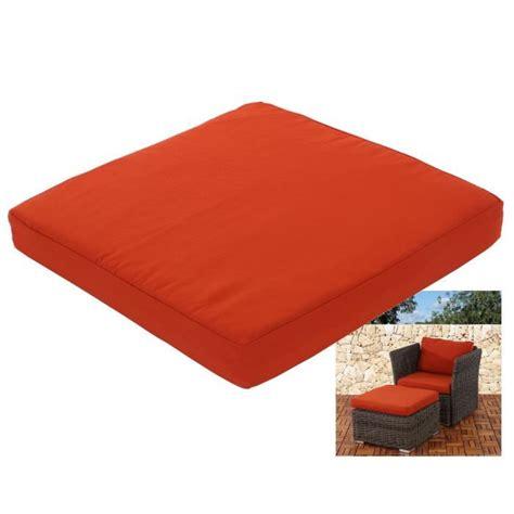 coussin pour canapé de jardin coussin d assise pr salon de jardin modulable siena