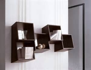 unique modern wall unique modern wall shelves for books geometric design of
