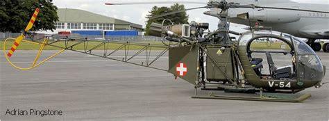 Swiss Army 1119 3g C alouette ii in schweizer luftwaffe